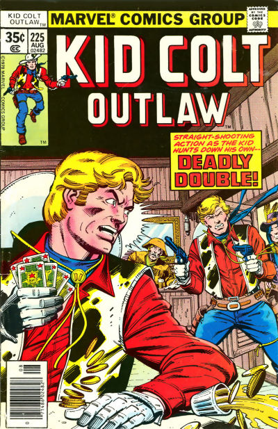 Cover for Kid Colt Outlaw (Marvel, 1949 series) #225