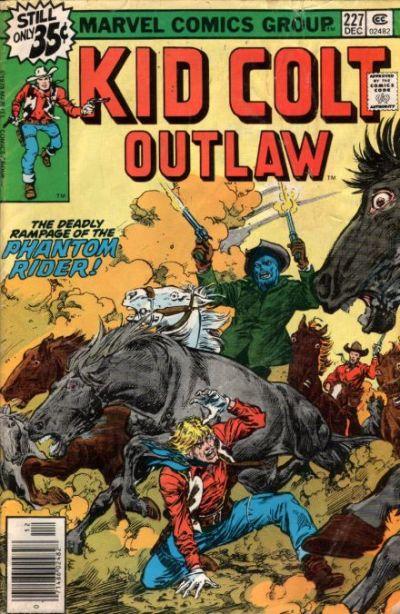 Cover for Kid Colt Outlaw (Marvel, 1949 series) #227