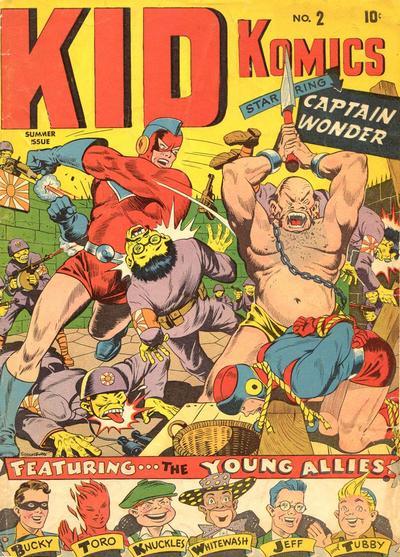 Cover for Kid Komics (Marvel, 1943 series) #2