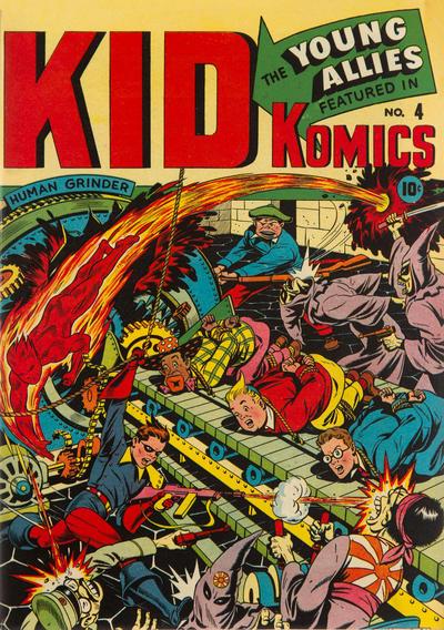 Cover for Kid Komics (Marvel, 1943 series) #4