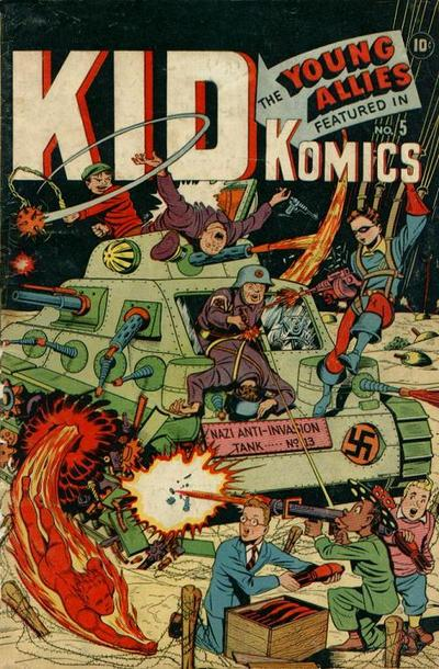 Cover for Kid Komics (Marvel, 1943 series) #5