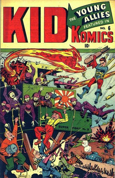Cover for Kid Komics (Marvel, 1943 series) #6
