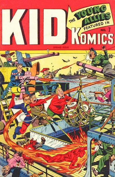 Cover for Kid Komics (Marvel, 1943 series) #7