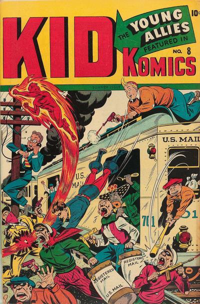 Cover for Kid Komics (Marvel, 1943 series) #8