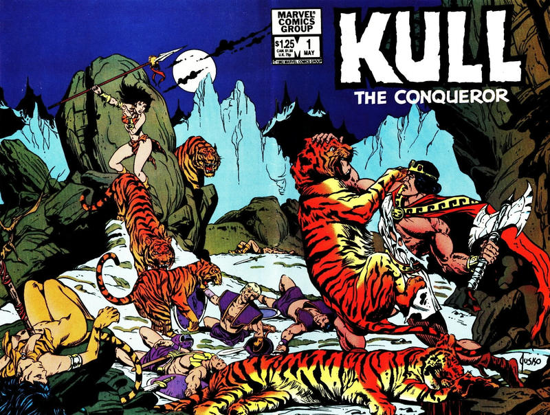 Cover for Kull the Conqueror (Marvel, 1983 series) #1