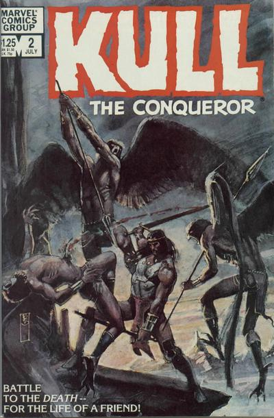 Cover for Kull the Conqueror (Marvel, 1983 series) #2