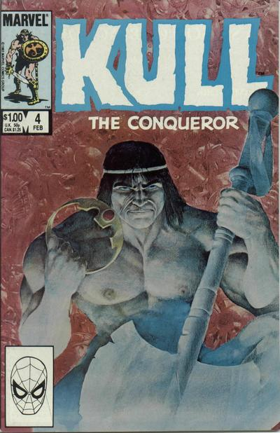 Cover for Kull the Conqueror (Marvel, 1983 series) #4 [Direct Edition]