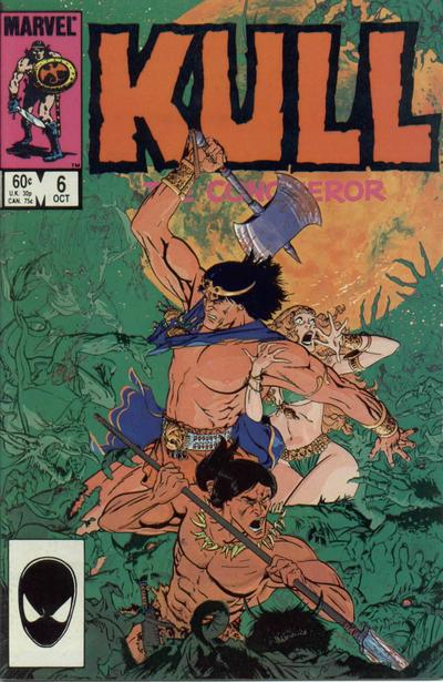 Cover for Kull the Conqueror (Marvel, 1983 series) #6 [Direct Edition]