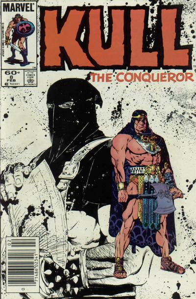 Cover for Kull the Conqueror (Marvel, 1983 series) #8 [Direct Edition]