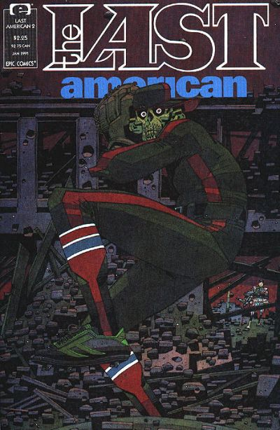 Cover for The Last American (Marvel, 1990 series) #2