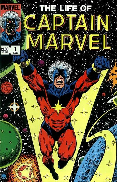 Cover for The Life of Captain Marvel (Marvel, 1985 series) #1