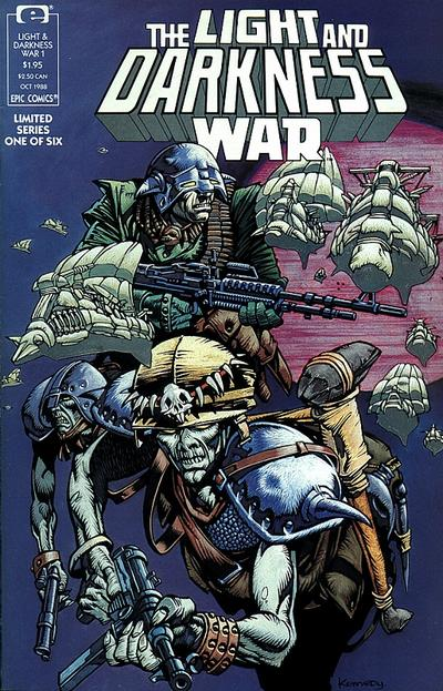 Cover for The Light and Darkness War (Marvel, 1988 series) #1