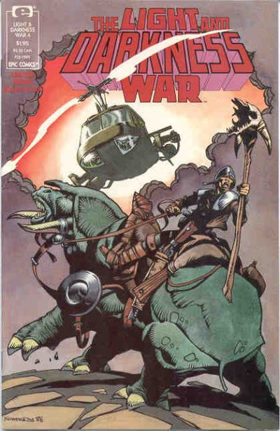 Cover for The Light and Darkness War (Marvel, 1988 series) #4