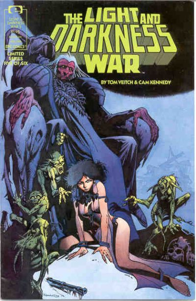 Cover for The Light and Darkness War (Marvel, 1988 series) #5