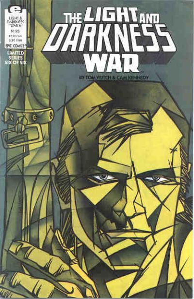 Cover for The Light and Darkness War (Marvel, 1988 series) #6