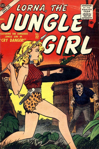 Cover for Lorna the Jungle Girl (Marvel, 1954 series) #22