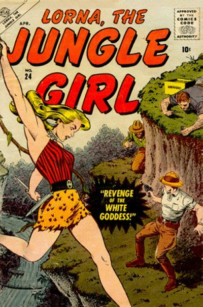Cover for Lorna the Jungle Girl (Marvel, 1954 series) #24