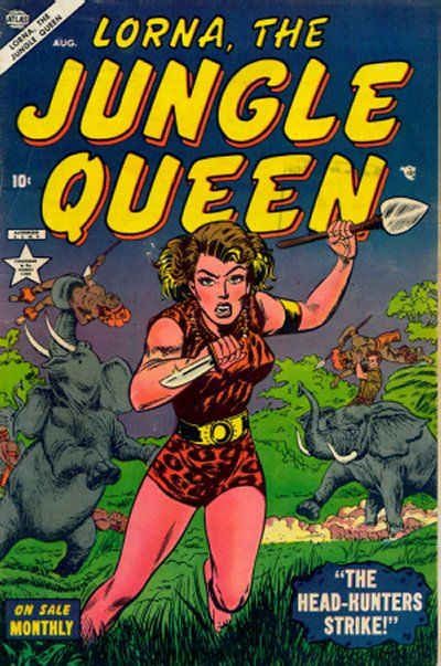 Cover for Lorna the Jungle Queen (Marvel, 1953 series) #2