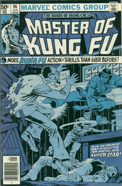 Cover for Master of Kung Fu (Marvel, 1974 series) #96