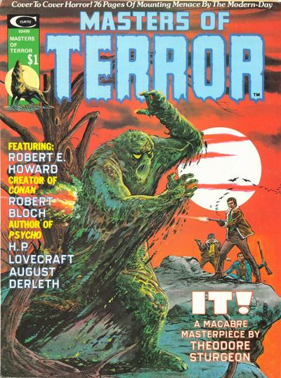 Cover for Masters of Terror (Marvel, 1975 series) #1