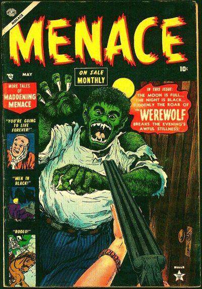 Cover for Menace (Marvel, 1953 series) #3
