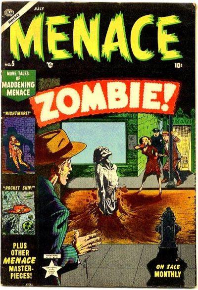 Cover for Menace (Marvel, 1953 series) #5