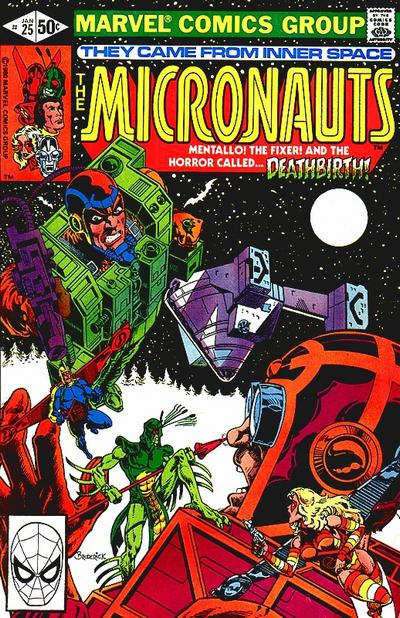 Cover for Micronauts (Marvel, 1979 series) #25