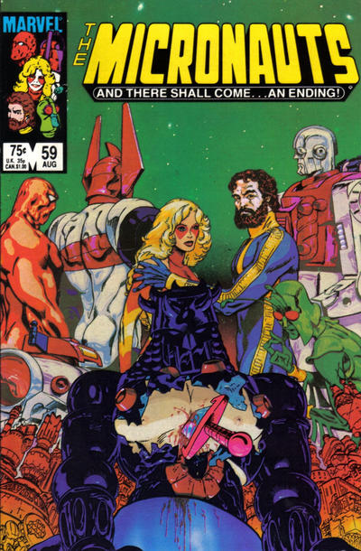 Cover for Micronauts (Marvel, 1979 series) #59