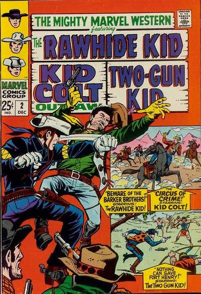 Cover for The Mighty Marvel Western (Marvel, 1968 series) #2