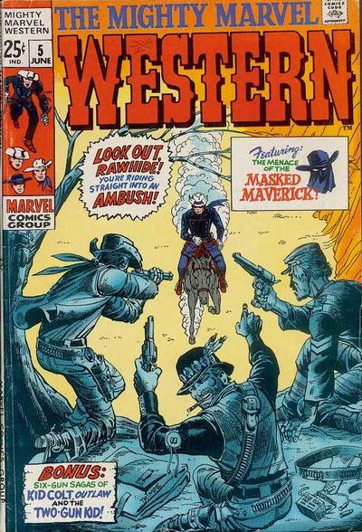 Cover for The Mighty Marvel Western (Marvel, 1968 series) #5