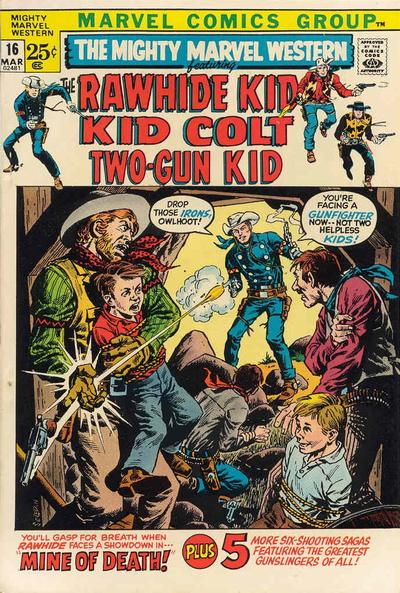 Cover for The Mighty Marvel Western (Marvel, 1968 series) #16