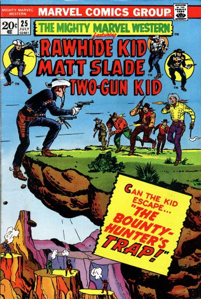 Cover for The Mighty Marvel Western (Marvel, 1968 series) #25