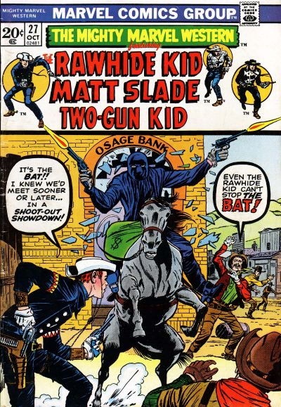 Cover for The Mighty Marvel Western (Marvel, 1968 series) #27