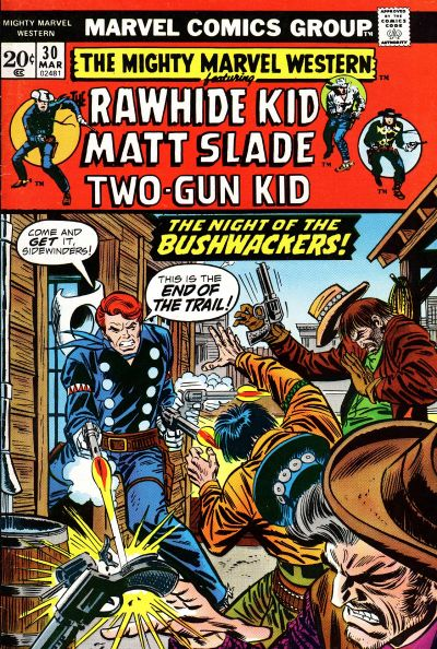 Cover for The Mighty Marvel Western (Marvel, 1968 series) #30