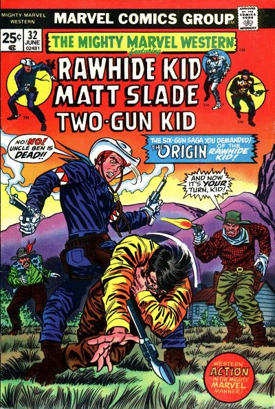 Cover for The Mighty Marvel Western (Marvel, 1968 series) #32