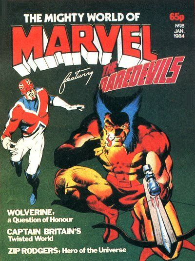 Cover for The Mighty World of Marvel (Marvel UK, 1982 series) #8