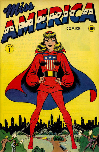 Cover for Miss America Comics (Marvel, 1944 series) #1