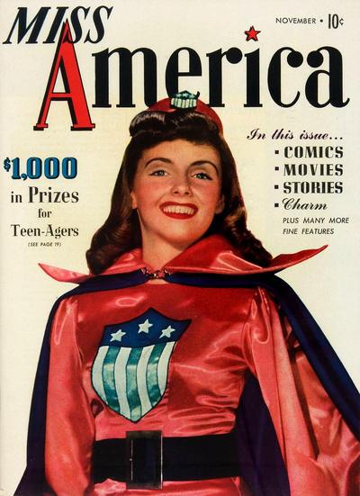 Cover for Miss America Magazine (Marvel, 1944 series) #v1#2