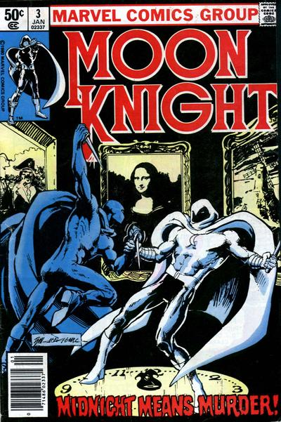 Cover for Moon Knight (Marvel, 1980 series) #3