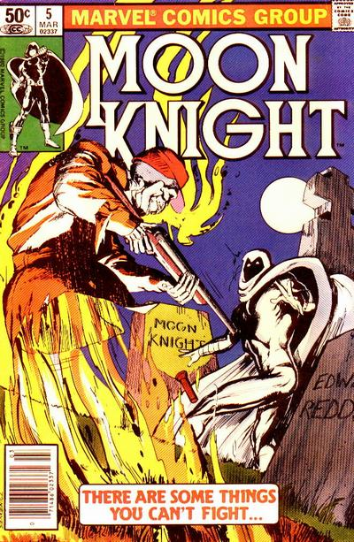 Cover for Moon Knight (Marvel, 1980 series) #5 [Direct]