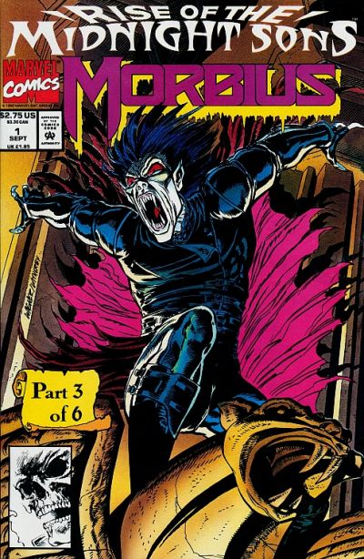 Cover for Morbius: The Living Vampire (Marvel, 1992 series) #1