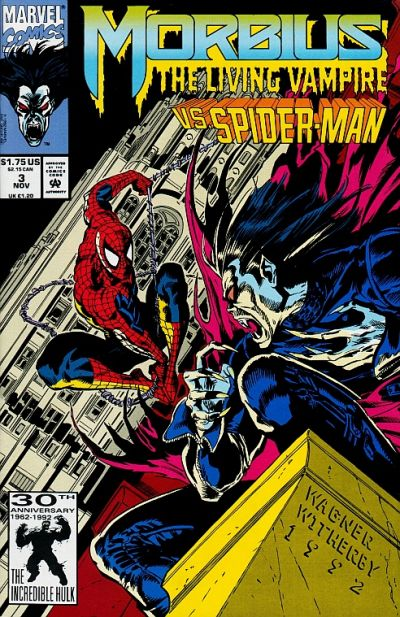 Cover for Morbius: The Living Vampire (Marvel, 1992 series) #3