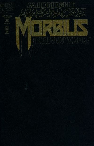 Cover for Morbius: The Living Vampire (Marvel, 1992 series) #12