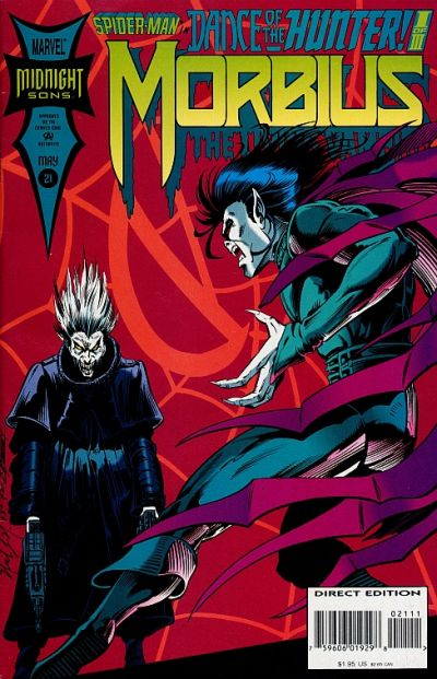 Cover for Morbius: The Living Vampire (Marvel, 1992 series) #21