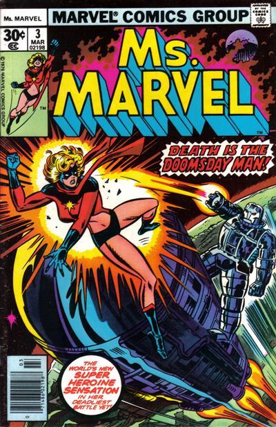 Cover for Ms. Marvel (Marvel, 1977 series) #3