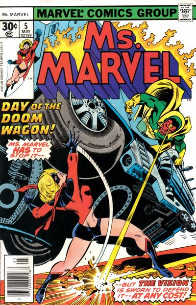 Cover for Ms. Marvel (Marvel, 1977 series) #5