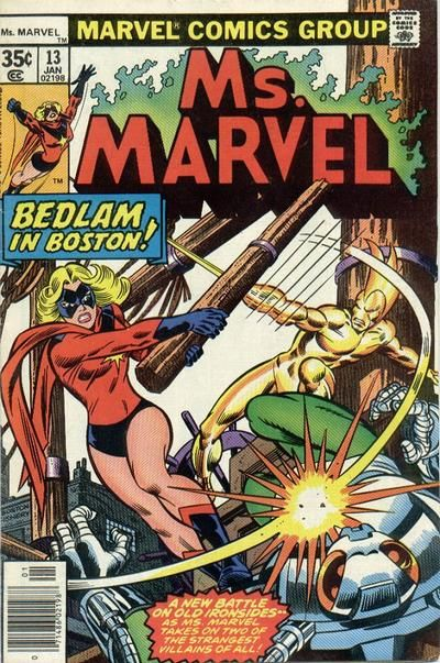 Cover for Ms. Marvel (Marvel, 1977 series) #13
