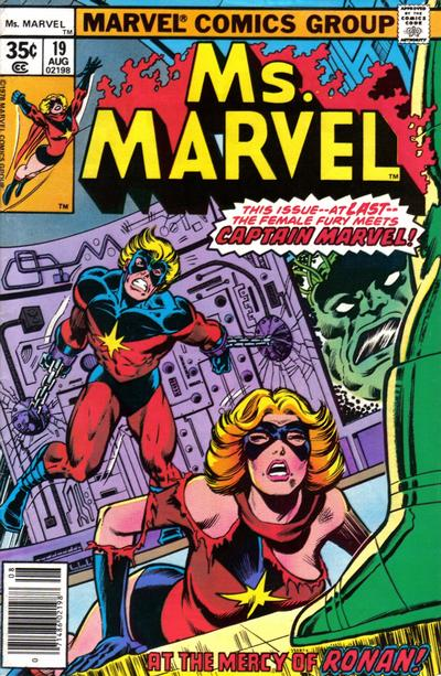 Cover for Ms. Marvel (Marvel, 1977 series) #19
