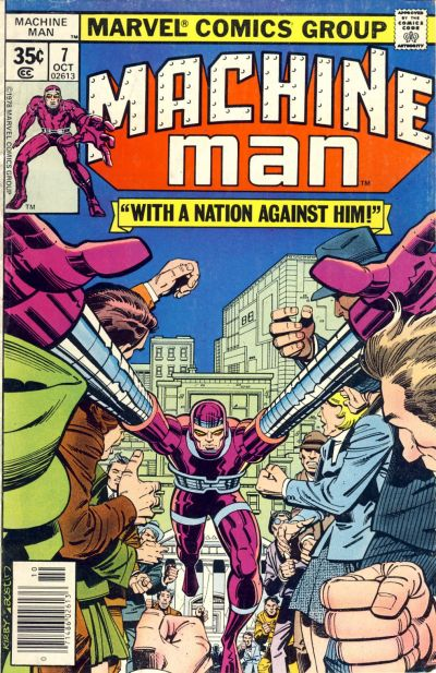 Cover for Machine Man (Marvel, 1978 series) #7