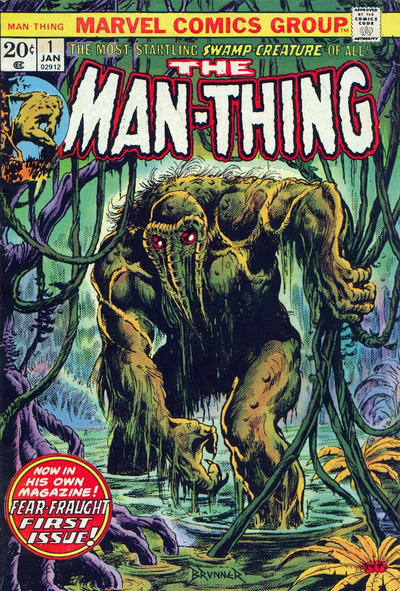 Cover for Man-Thing (Marvel, 1974 series) #1